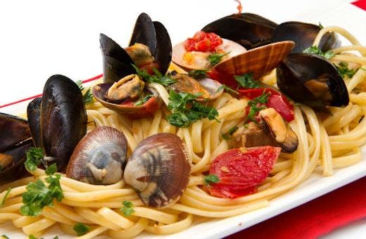Seafood pasta! Αντιστέκεσαι;