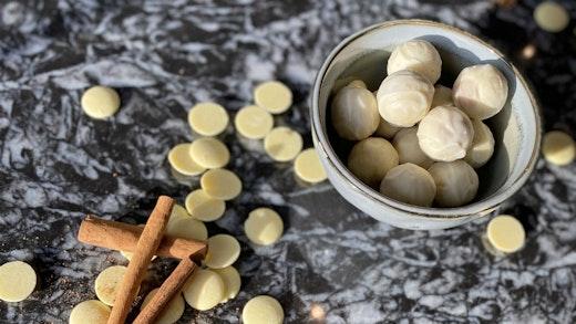 Τρούφες με Μπαχαρικά από τη Ζωή Βιδάλη
