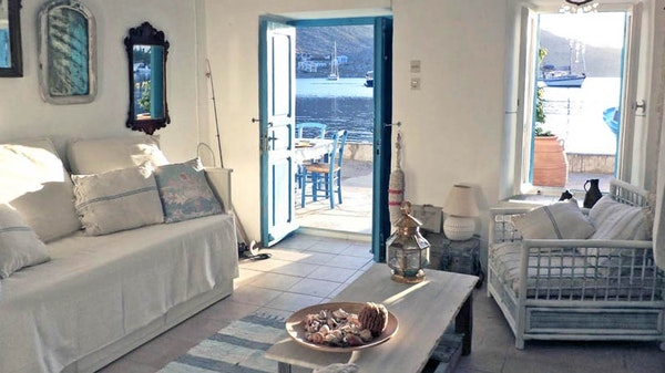 Home exchange offer on Symi Island, Greece