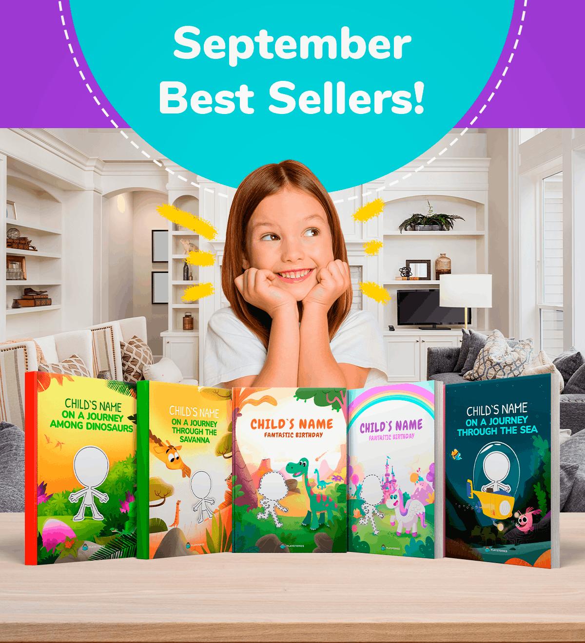 September Best Sellers - Playstories