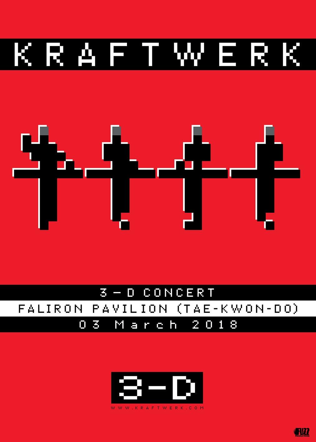 Kraftwerk 3-D Concert in Athens (3/3/18, Κλειστό Φαλήρου) – Ξεκίνησε η προπώληση!
