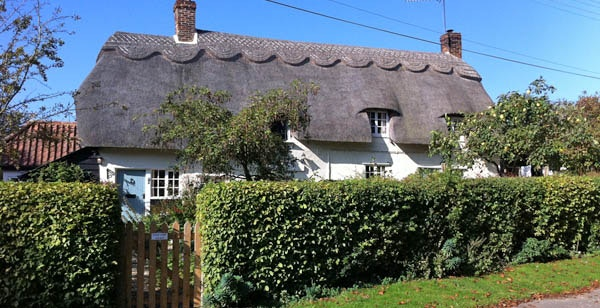 Thatched cottage home swap