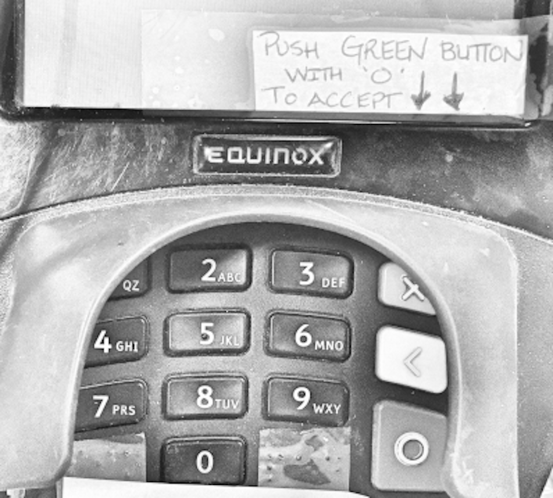 Press Green Button with O to Accept