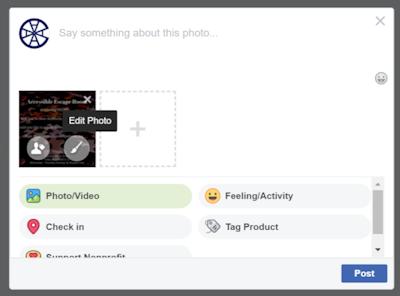 Screenshot of adding alt text to an image