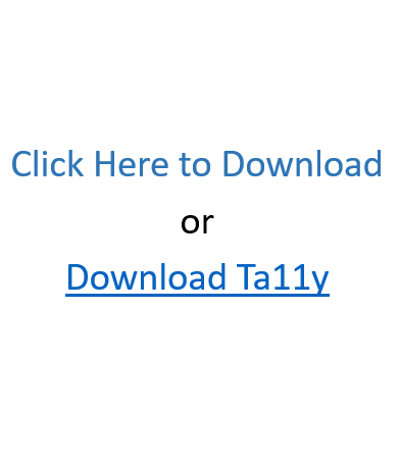 Sample link text: Click Here to Download or Download Ta11y