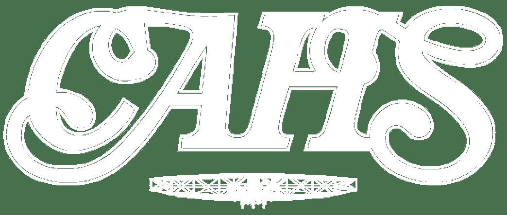 CAHS logo - plain white