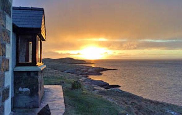 Cottage on Isle of Barra, Scotland