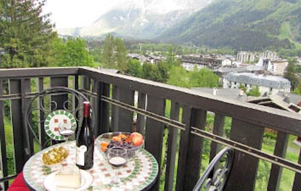 Home swap in Chamonix, France